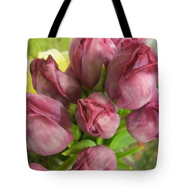 A Cool Bouquet  Tote Bag