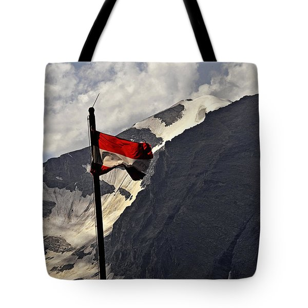 Tote Bag featuring the photograph A Cool Summerbreeze - Austria by Gerlinde Keating - Galleria GK Keating Associates Inc