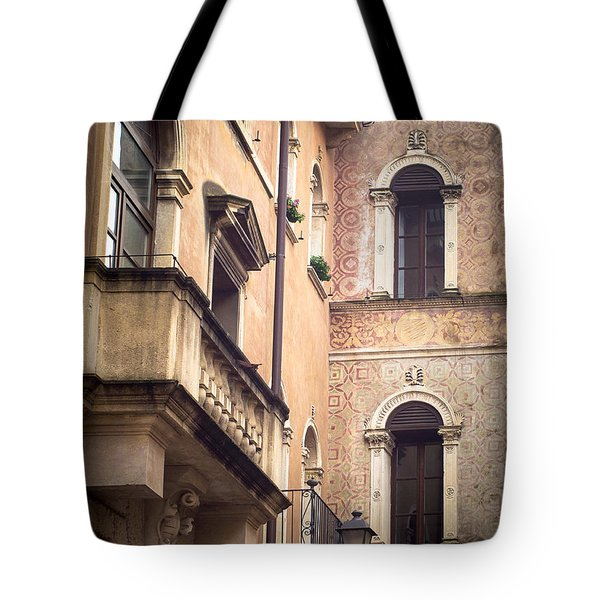 A Corner Of Vicenza Italy Tote Bag