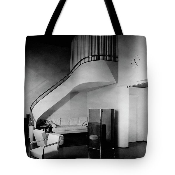 A Corner Staircase Tote Bag