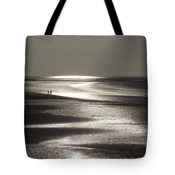 A Couple On A Deserted Beach Tote Bag