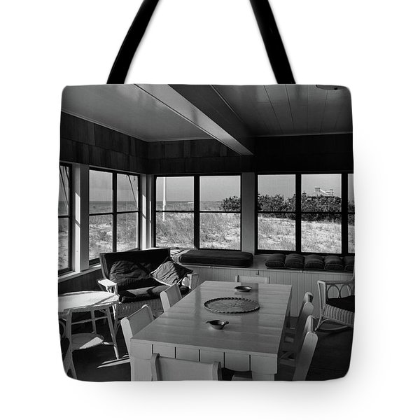 A Covered Porch With A View Tote Bag