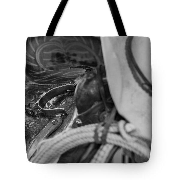 A Cowboy's Gear Tote Bag