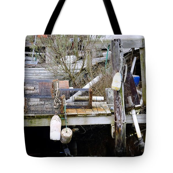 A Crab Fishermans Still Life Tote Bag