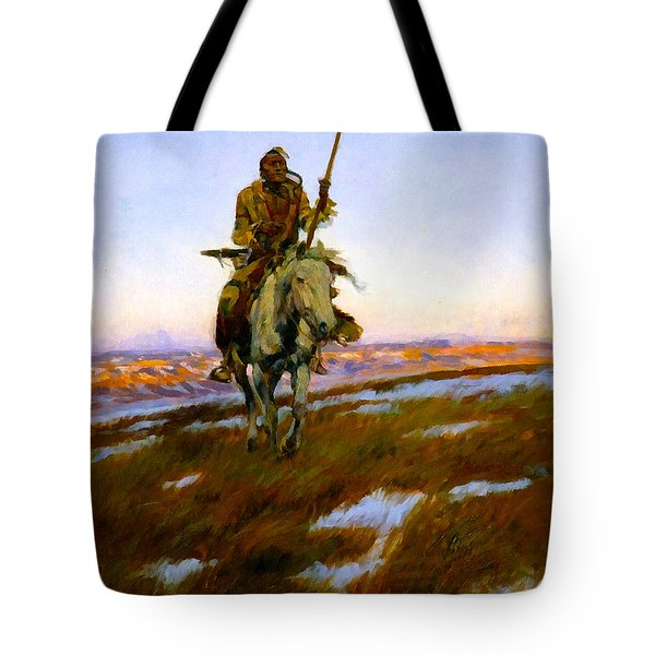 A Cree Indian Tote Bag