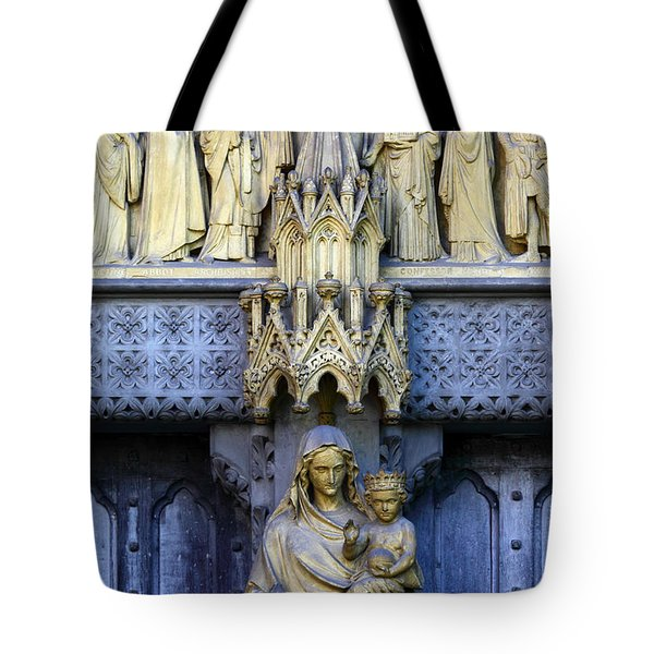 A Crown For Mary And Jesus Tote Bag