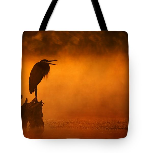 A Cry In The Mist Tote Bag
