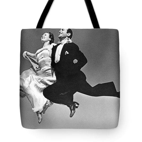A Dance Team Does The Rhumba Tote Bag
