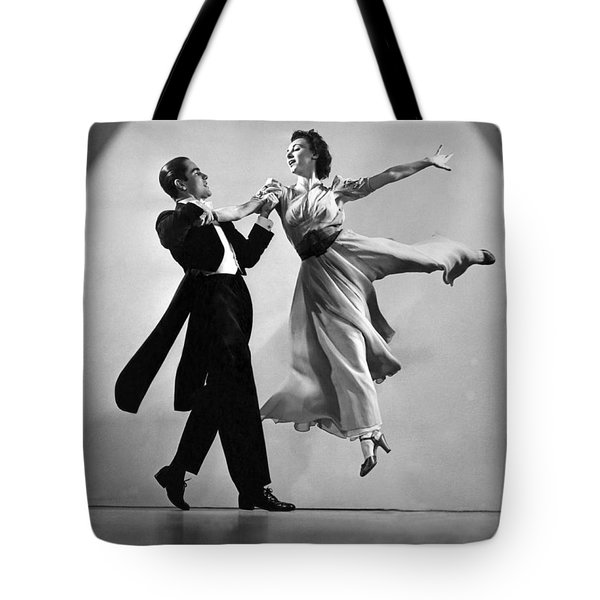 A Dance Team On Stage Tote Bag