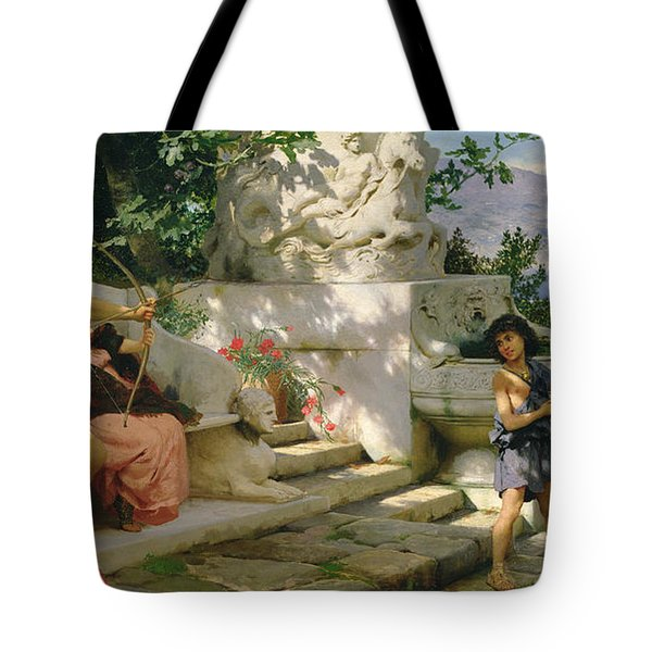 A Dangerous Lesson Tote Bag by Hendrik Siemiradzki
