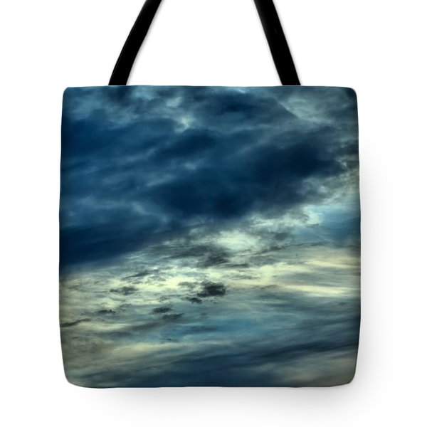 Tote Bag featuring the photograph A Dark And Stormy Morning by Kenny Glotfelty