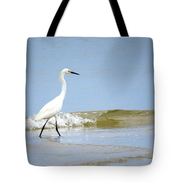 Tote Bag featuring the photograph A Day At The Beach by Phyllis Beiser
