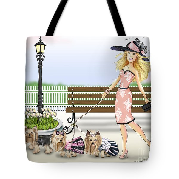 A Day At The Derby Tote Bag by Catia Cho