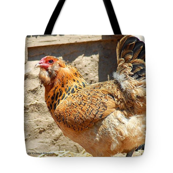 A Day At The Farm Tote Bag by Cindy Manero