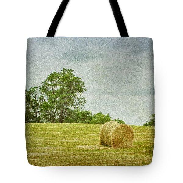 A Day At The Farm Tote Bag by Kim Hojnacki