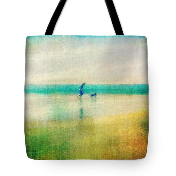 A Day By The Sea Tote Bag by Suzy Norris