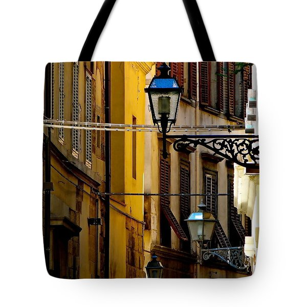 A Day In Florence Tote Bag by Ira Shander