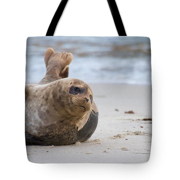 Tote Bag featuring the photograph a day in the Sun by Ruth Jolly