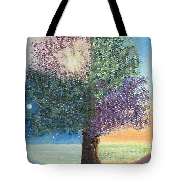 A Day In The Tree Of Life Tote Bag