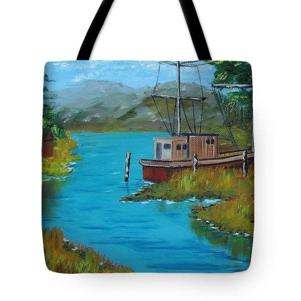 A Day Off Tote Bag