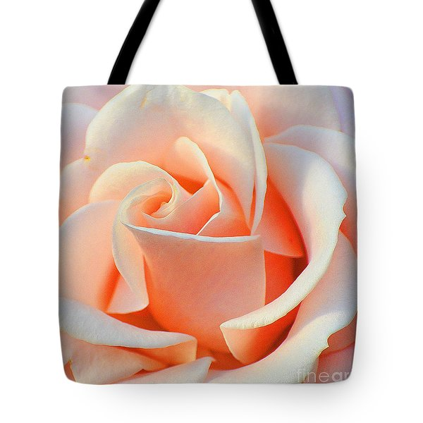 A Delicate Rose Tote Bag by Cindy Manero