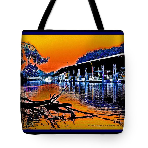 A Delta Sunset  Tote Bag