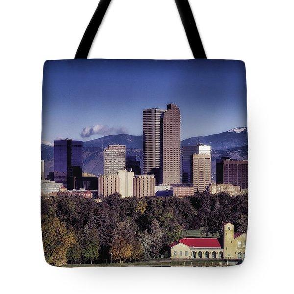 A Denver Autumn Tote Bag
