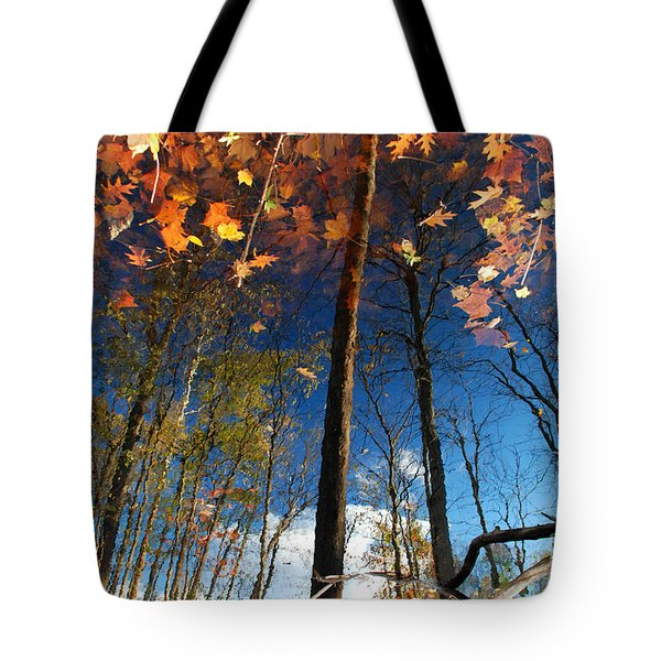 A Different Side Of Autumn Tote Bag