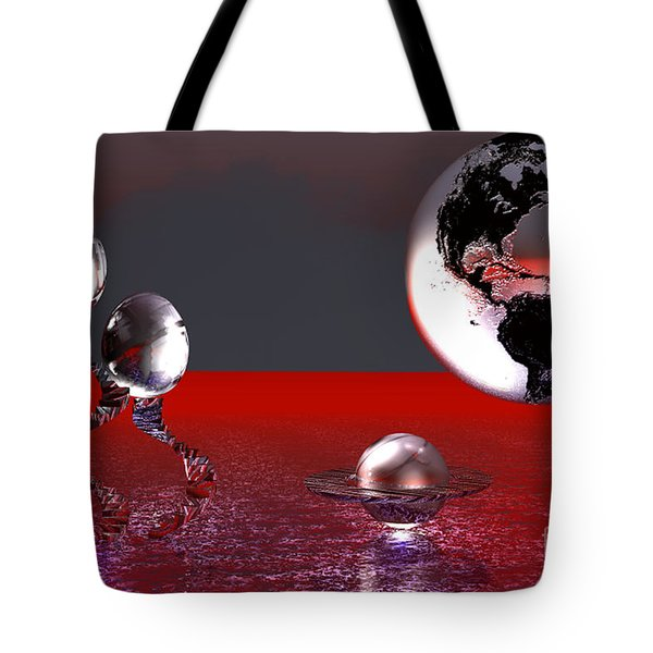 A Different World Tote Bag