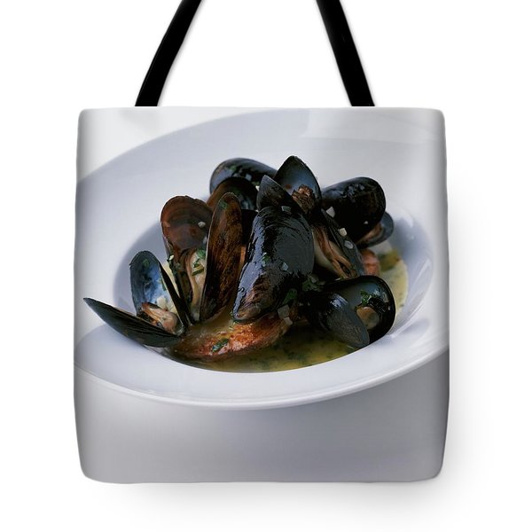 A Dish Of Mussels Tote Bag