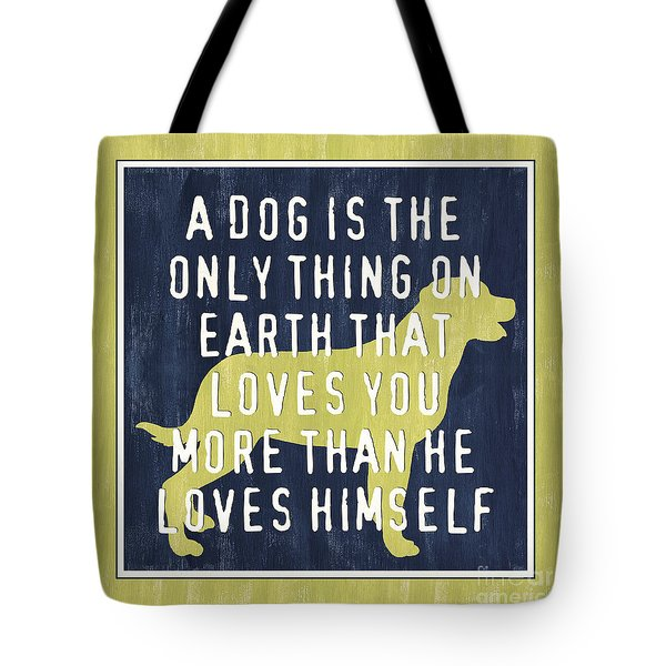 A Dog... Tote Bag by Debbie DeWitt