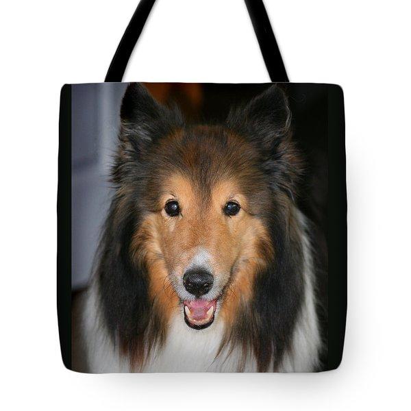 A Dog Named Beau Tote Bag