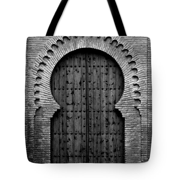 A Door To Glory Tote Bag by Syed Aqueel