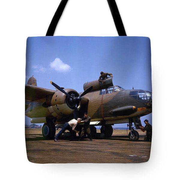 A Douglas A-20c-bo Havoc 1942 Tote Bag by Celestial Images