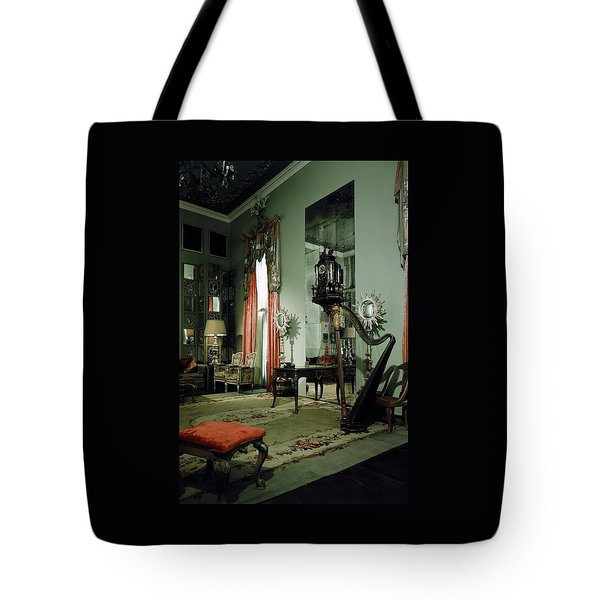 A Drawing Room Tote Bag