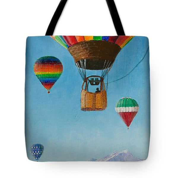 A Dream Come True Tote Bag by Margaret Bobb