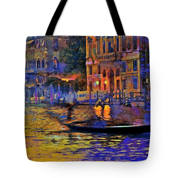 A Dream Of Venice Tote Bag by Steven Boone