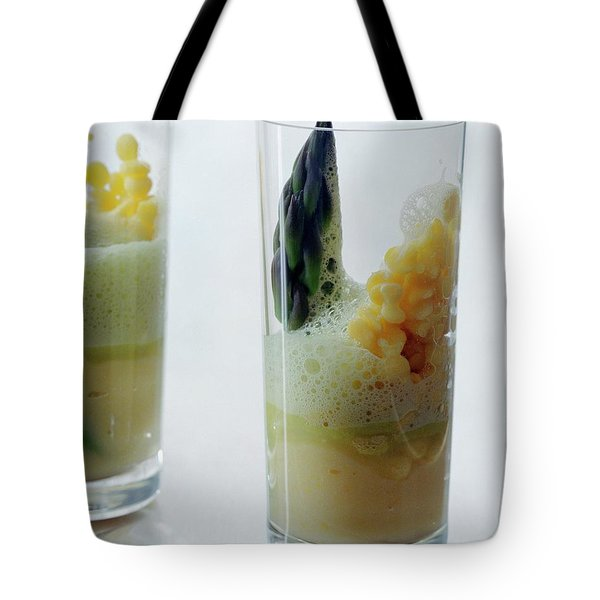 A Drink With Asparagus Tote Bag