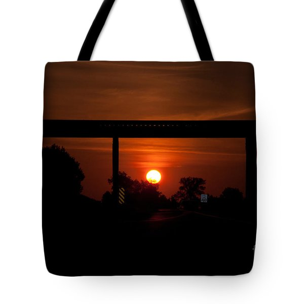 A Driver's View Tote Bag
