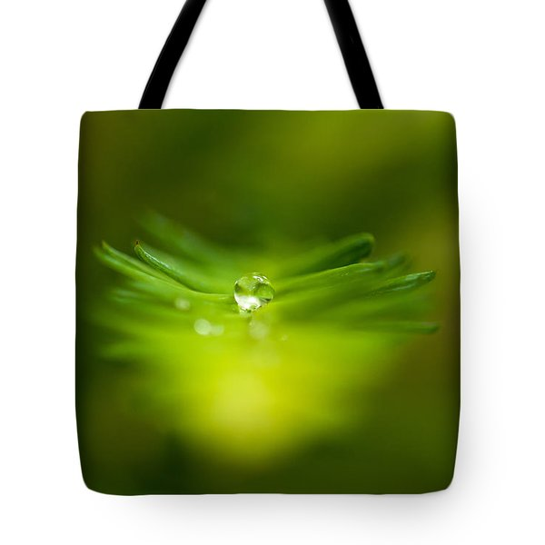 A Drop In The Green Tote Bag by Sabine Edrissi