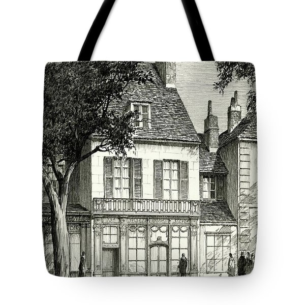 A Facade Of A Store Tote Bag