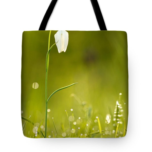 A Fairies' Place IIi _snake's Head Fritillary Tote Bag