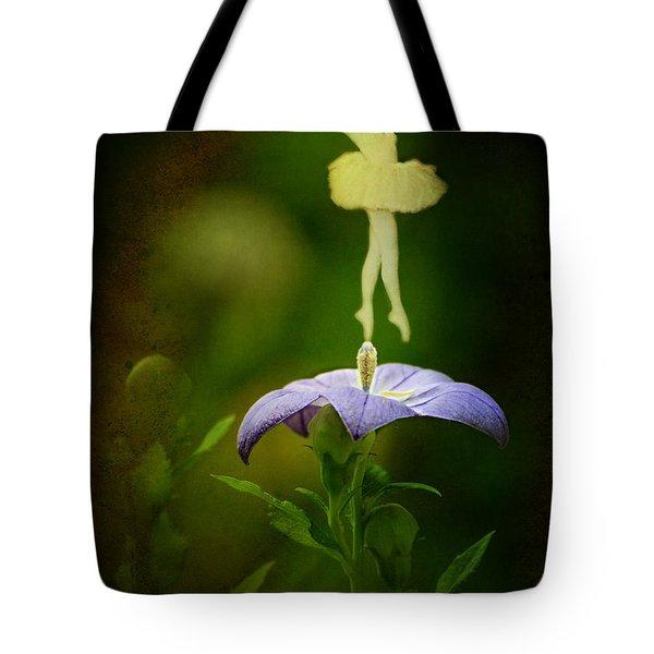 A Fairy In The Garden Tote Bag