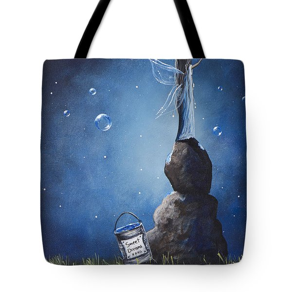 A Fairy's Nighttime Gift By Shawna Erback Tote Bag by Shawna Erback