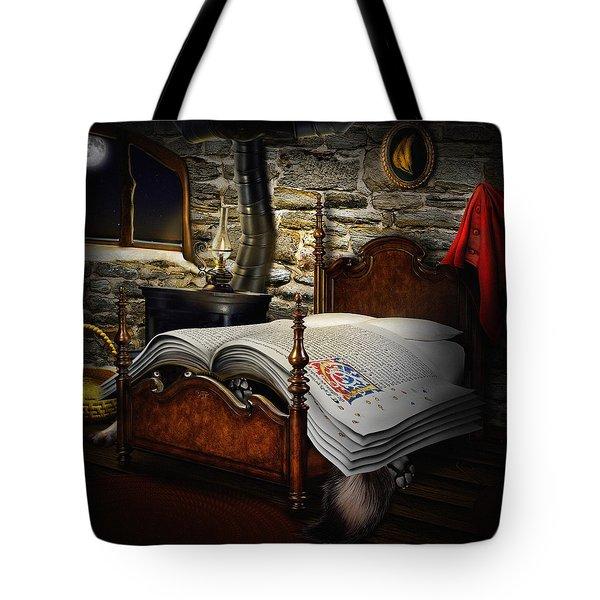 A Fairytale Before Sleep Tote Bag by Alessandro Della Pietra