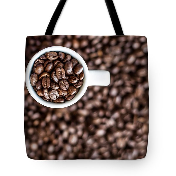 Tote Bag featuring the photograph A Familiar Blend by Aaron Aldrich