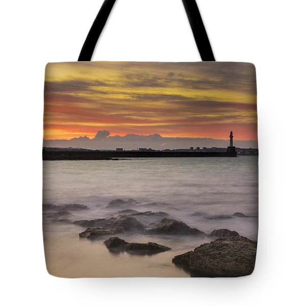 A Far Away City Tote Bag