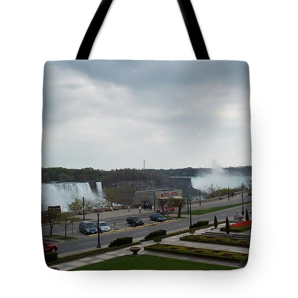 Tote Bag featuring the photograph A Favorite Walkway by Barbara McDevitt