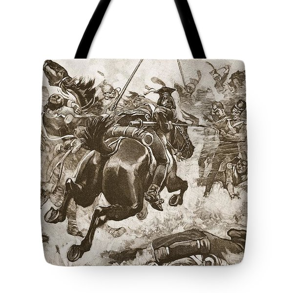 A Fierce Hand-to-hand Fight Ensued Tote Bag
