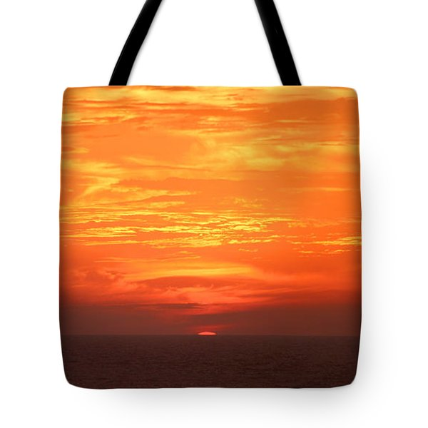 A Final Splash Of Color Tote Bag